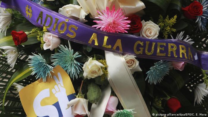 Kolumbien Freude über den Waffenstillstand Friedensverhandlungen FARC auf Kuba