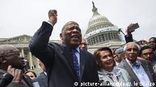 USA Protest Abgeordnete der Demokraten für Verschärfung des Waffenrechts
