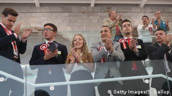 People at Gibraltar University react to the vote on the Rock, before finding out the full result