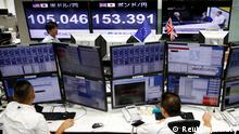 Japan EU-Referendum Brexit Markt in Tokio
