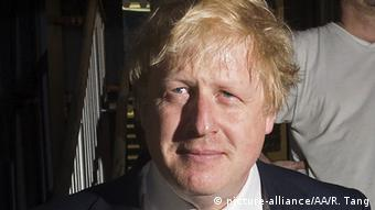 London Boris Johnson EU-Referendum Stimmabgabe