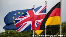 Symbolbild Beziehungen Deutschland Großbritannien EU