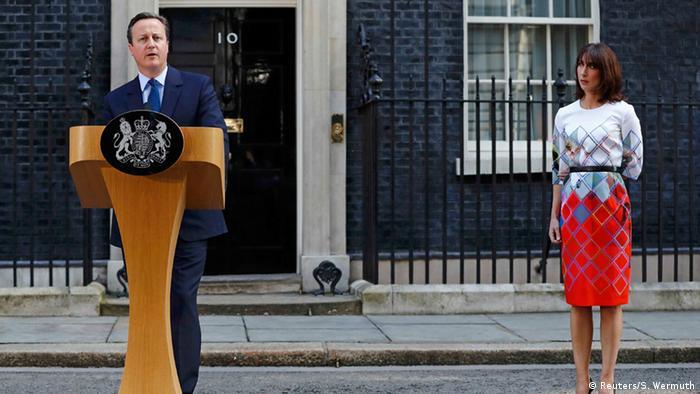 Großbritanien Cameron kündigt Rücktritt an