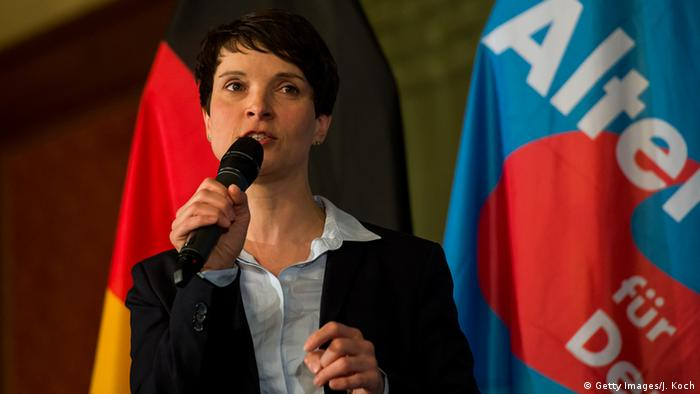 Brexit Reaktionen Archivbild Frauke Petry (Getty Images/J. Koch)