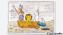 'Gruffalo' illustrator Axel Scheffler prepared a cartoon on Brexit: The morning after...