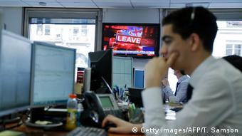 Crash na Bolsa de Paris após Brexit