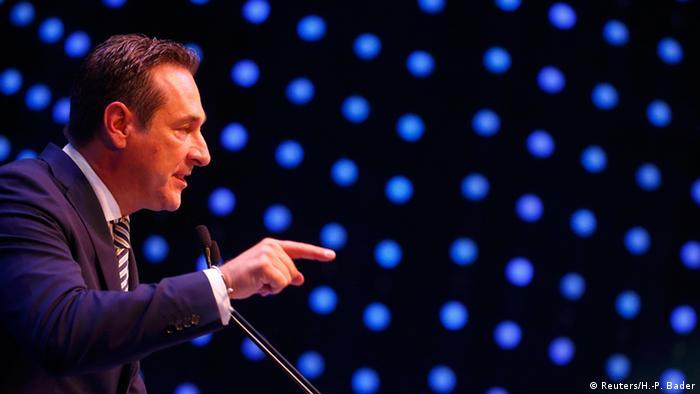 Österreich: Heinz Christian Strache FPÖ (Foto: Reuters)