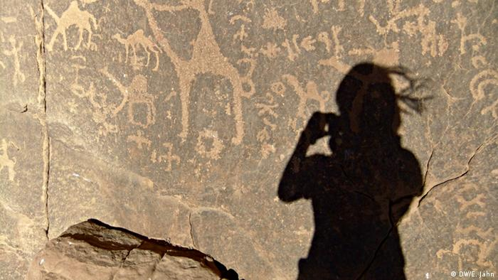 Pre-historic rock paintings, Wadi Rum, Jordan (Elisabeth Jahn)