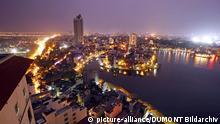 Vietnam Skyline von Hanoi