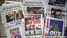 Brexit Presse London