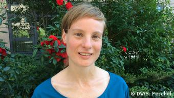 Translator Lena Müller. Copyright: DW/S. Peschel
