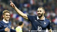 Frankreich Nizza Karim Benzema während Freundschaftsspiel von Frankreich gegen Armenien
