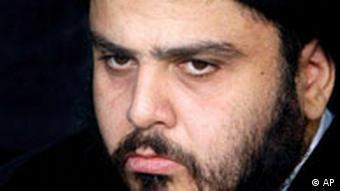 Radical Shiite cleric Muqtada al-Sadr