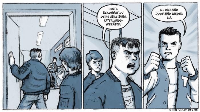 Comic Drei Steine