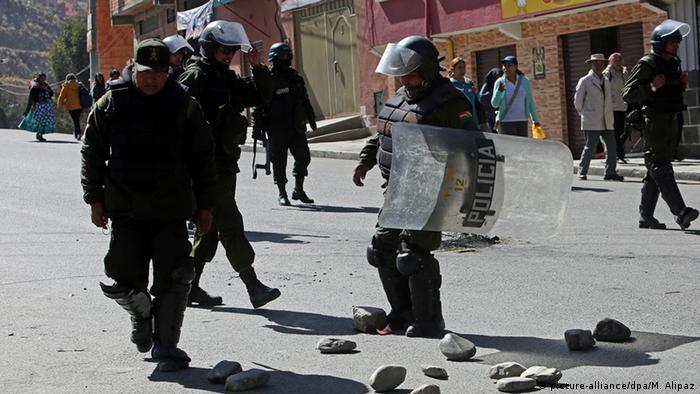 Bolivien Proteste
