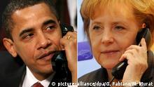 USA Deutschland Obama und Merkel Telefon