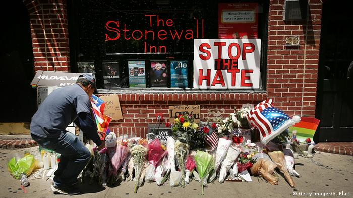 USA New York Bar The Stonewall Inn (Getty Images/S. Platt)