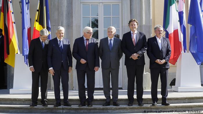 Deutschland Berlin Brexit Treffen Außenminister EU Gründungsstaaten