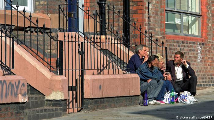 Großbritannien: Obdachlose in Liverpool (Foto: picture alliance/dpa)