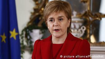 Premiê escocesa, Nicola Sturgeon