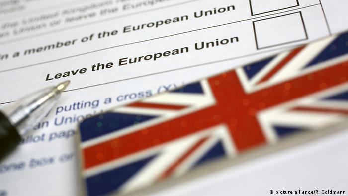 Symbolbild Referendum Stimmzettel