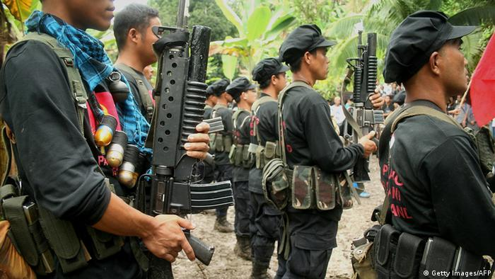 Philippinen New People's Army (Getty Images/AFP)