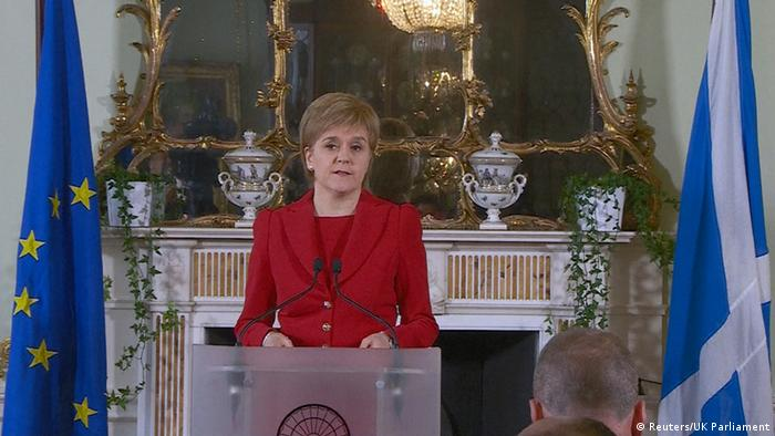 Nicola Sturgeon comments on the Brexit referendum results
