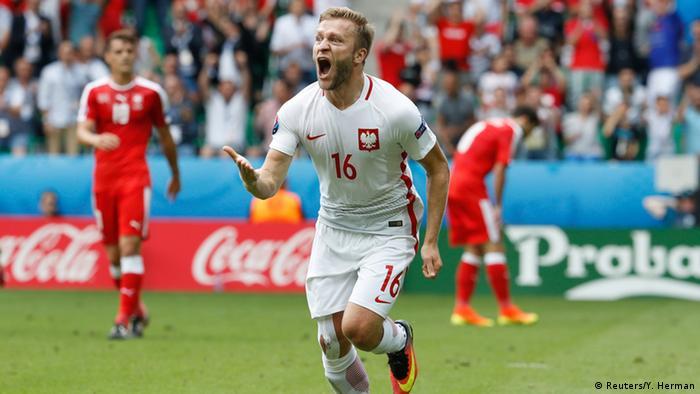UEFA EURO 2016 - Achtelfinale | Schweiz vs. Polen - Torjubel Blaszczykowski