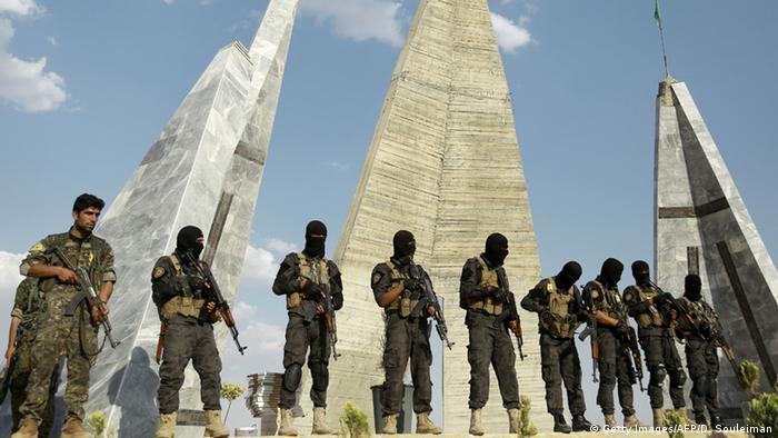 Бійці Демократичних сил Сирії