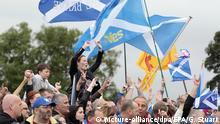 Schottland Proteste in Edinburgh