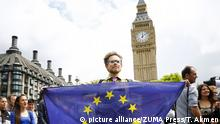 Großbritannien Brexit Protest in London