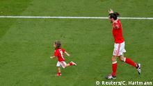 UEFA EURO 2016 - Achtelfinale   Wales vs. Nordirland Gareth Bale Tochter