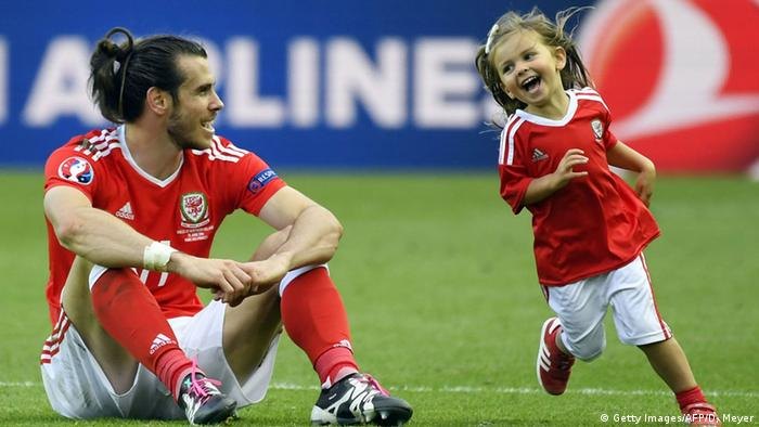 UEFA EURO 2016 - Achtelfinale | Wales vs. Nordirland Gareth Bale Tochter