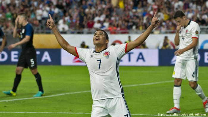 Copa America 2016 Kolumbien vs USA Carlos Bacca