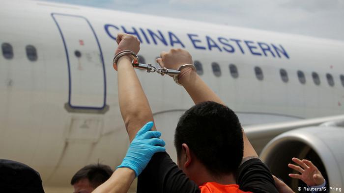 Kambodscha Auslieferung Taiwaner an China (Reuters/S. Pring)