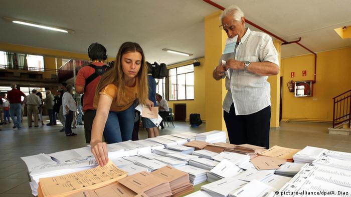 Spanien Parlamentswahlen Wähler