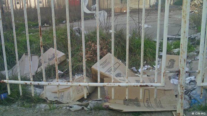 Die ägyptische Zigarettenmarke Cleopatra wird in Montenegro verfälscht (Foto: CIN-MG (Zentrum für investigativen Journalismus Montenegro)