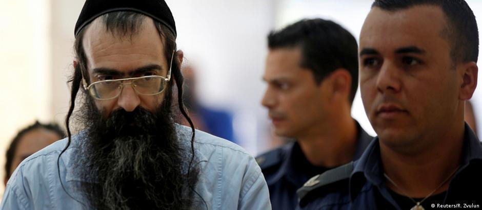 Schlissel chega ao tribunal de Jerusalém para ouvir a sentença