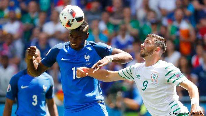 UEFA EURO 2016 - Achtelfinale   Frankreich gegen Irland