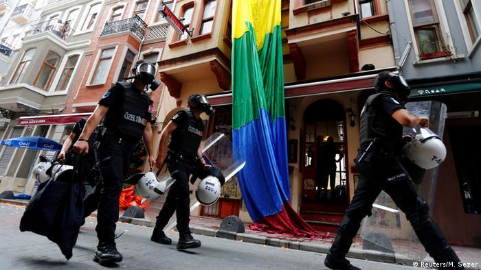 Türkei Pride Week Demo in Istanbul