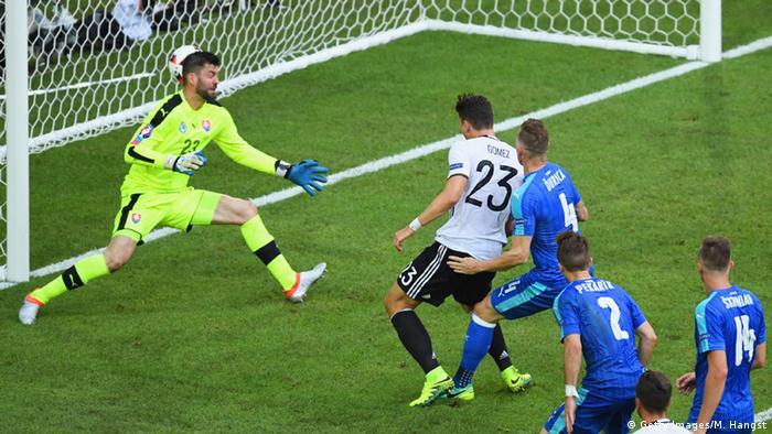 UEFA EURO 2016 - Achtelfinale | Deutschland vs. Slowakei 2:0 Tor Gomez
