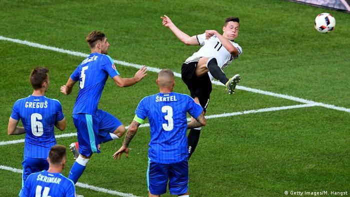 UEFA EURO 2016 - Achtelfinale | Deutschland vs. Slowakei 3:0 Tor Draxler