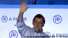 Spanien Madrid Premierminister Mariano Rajoy