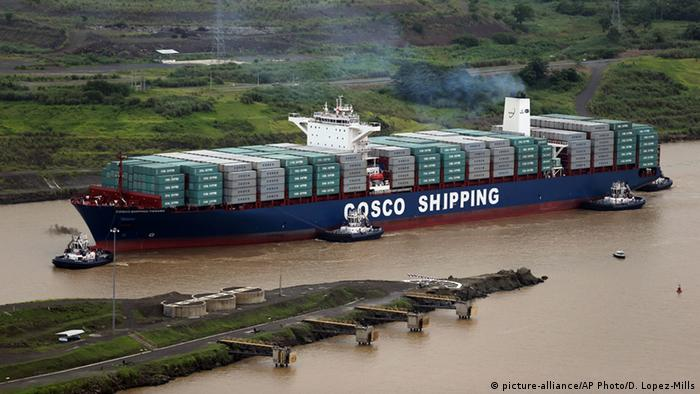 Eröffnung des Panamakanals Erweiterung in Panama City