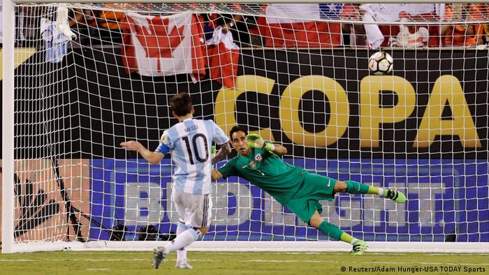 Copa America Finale | Argentinien vs. Chile - Lionel Messi (Reuters/Adam Hunger-USA TODAY Sports)