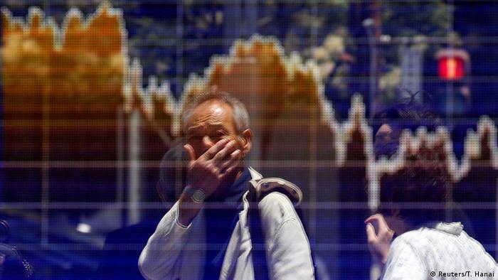 Japan Aktienindex Sturz