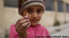 Syrien Bürgerkrieg - Kind mit Munition