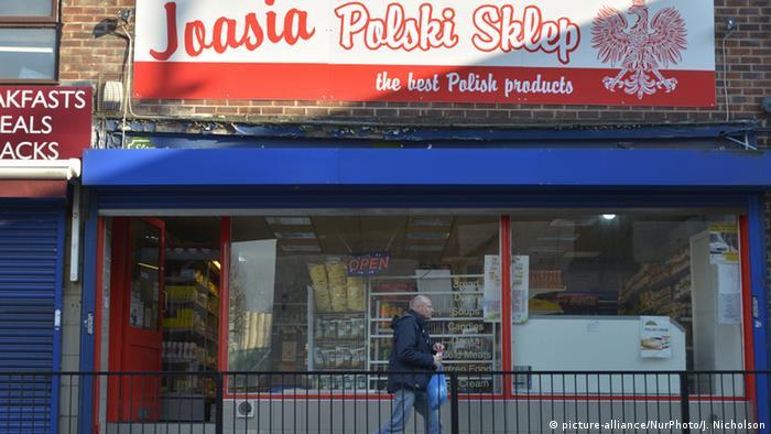 Polski sklep w Stockport (Anglia)
