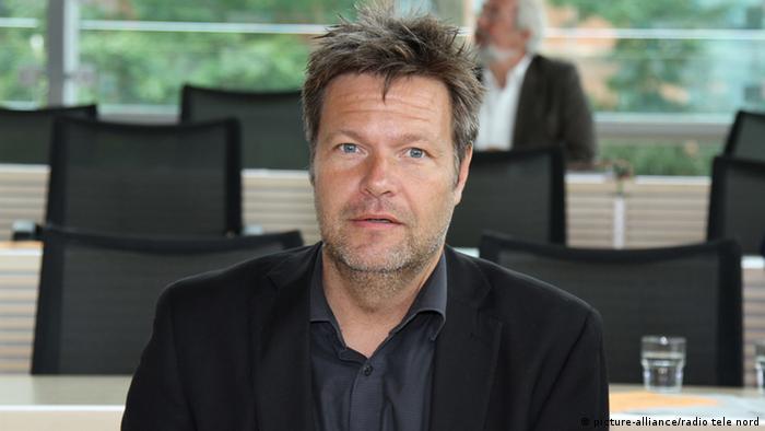 Robert Habeck, Umweltminister des Bundeslandes Schleswig-Holstein (Foto: picture-alliance)