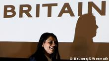 Großbritannien London Priti Patel (Reuters/S. Wermuth)